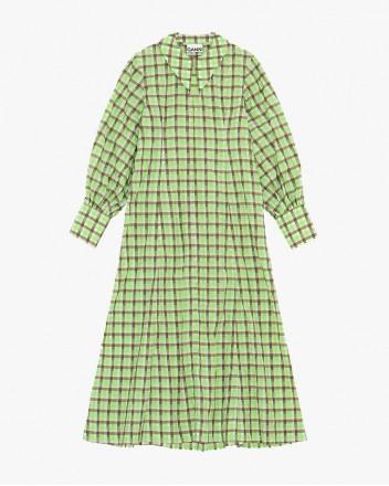 Seersucker Maxi Dress