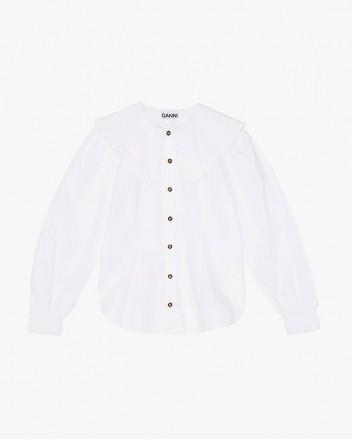 Cotton Poplin Fitted Shirt...