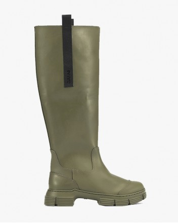 Recycled Rubber Boot High