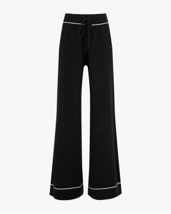 Engadin Pant in Black
