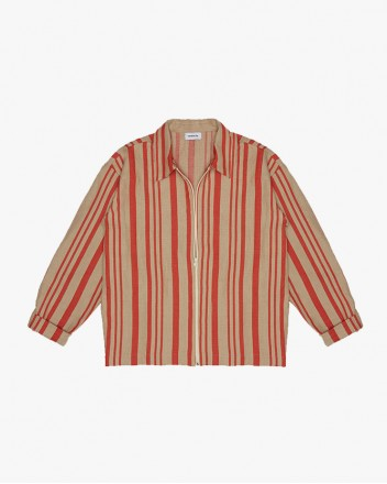 Striped Overshirt