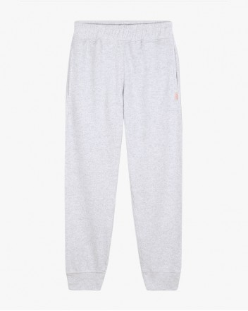Grey Marl Sweatpants in Grey