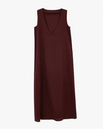 Vino V Neck Dress