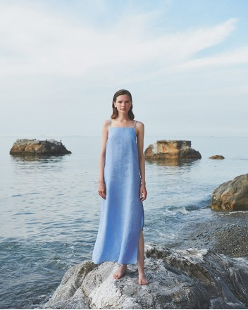 Bleu-Bleu Dress