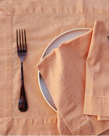 Kumkuat Placemat And Napkin...