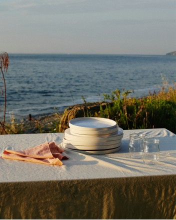 Stone Tablecloth Medium