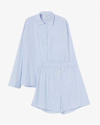 Dream Blue Stripes Pyjama Set