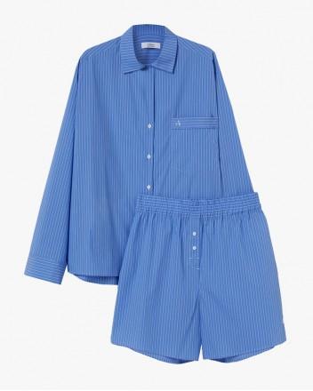 Zen Blue Stripes Pyjama Set