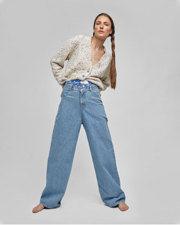 Boxer Wide Jeans With...