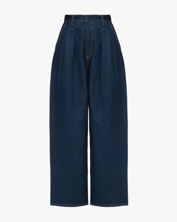 Low Rise Wide Jeans