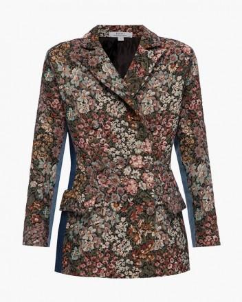 Jacquard Jacket With...