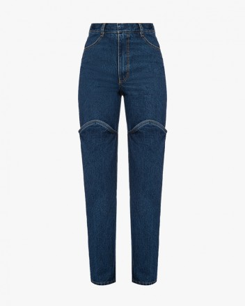 Jeans With Open Knee