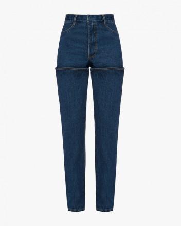 Dark Blue Wader Jeans