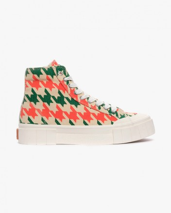 Palm Dogstooth Sneakers