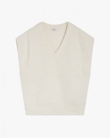 Knit Top in White