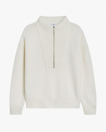 Knit Jersey in White