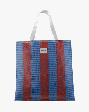 Blue Red Tote
