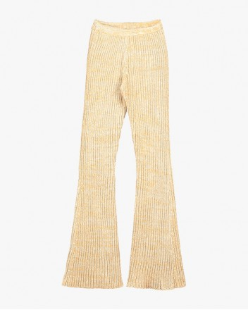 70s Pants in Ecru