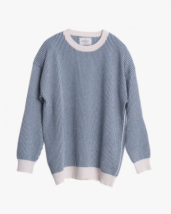 Nautical Striped Knitted...