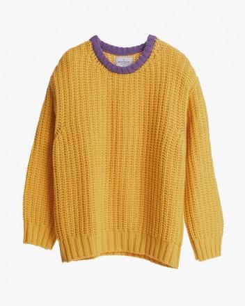 Yellow and Purple Chunky...