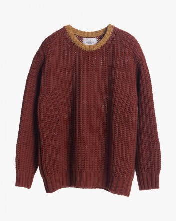 Maple Syrup Chunky Knit...