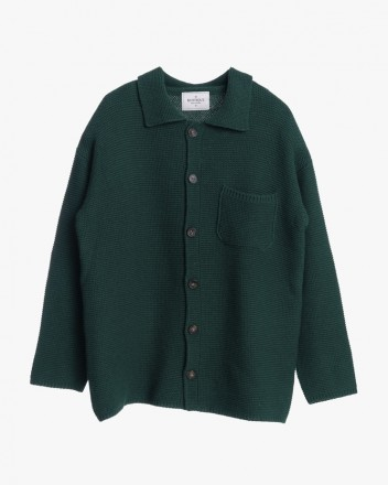 Knitted Cardigan in Pine Tree