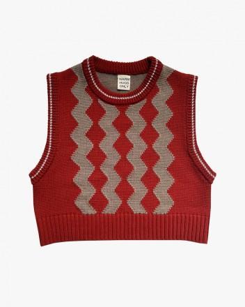 Raspberry Vest Terracotta...