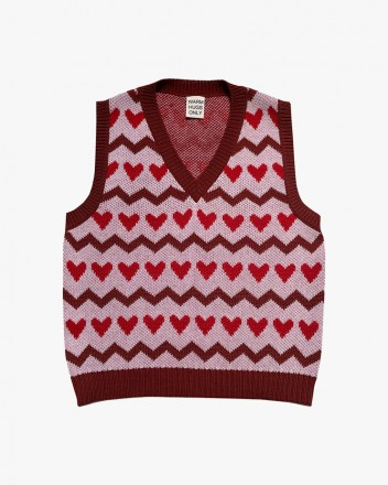 Sweetheart knitted Vest...