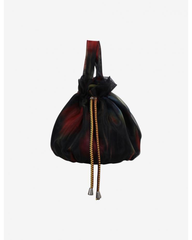 Kalina Organza Mini Bucket Bag