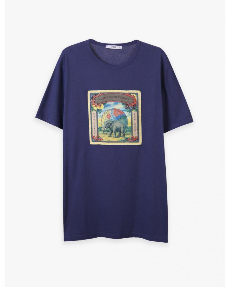 Elephant Patch T Shirt