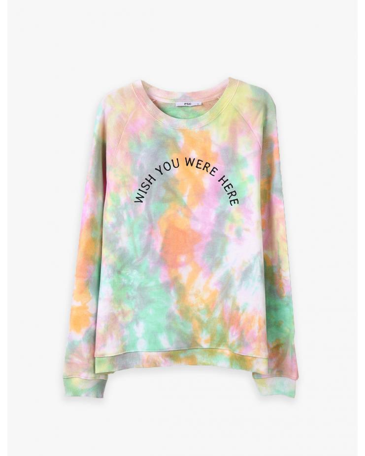 Rainbow Tie-Dye Sweatshirt