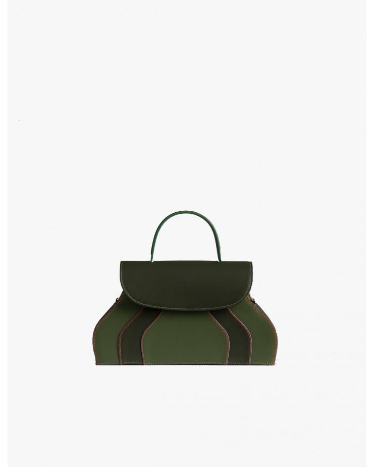 Marietta Khaki Green Handbag