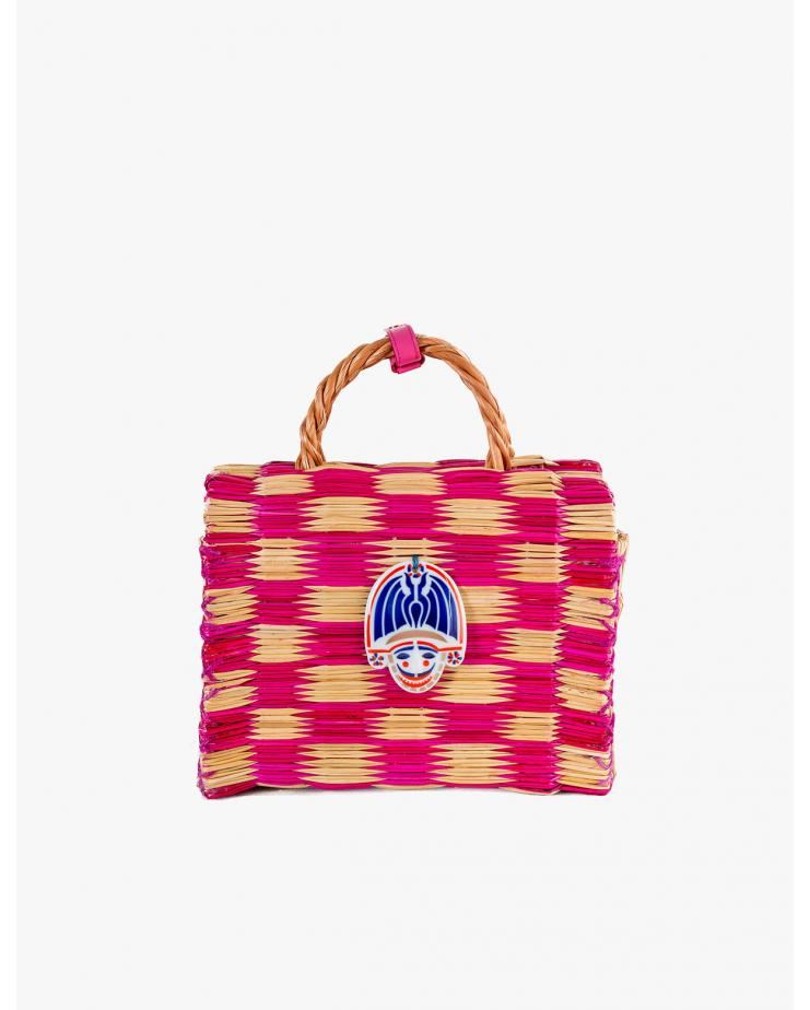 Tom Tom Pink Medium Bag