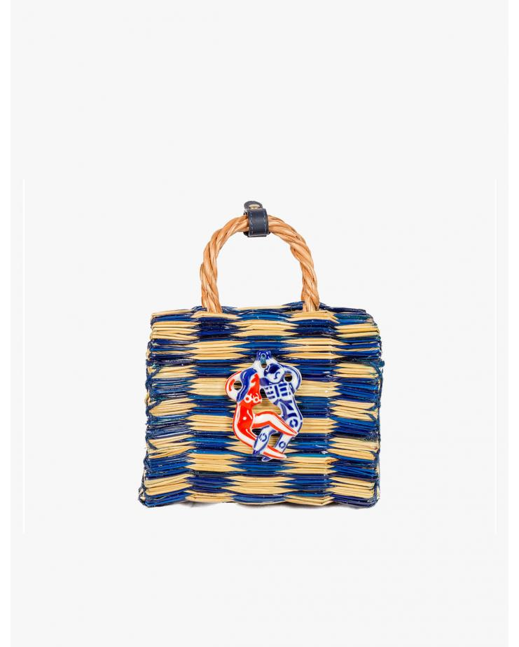 Tom Tom Blue Mini Bag