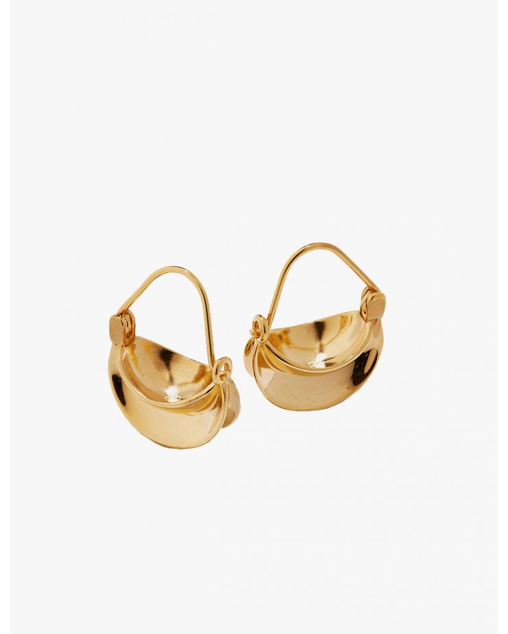 Mini paniers earrings