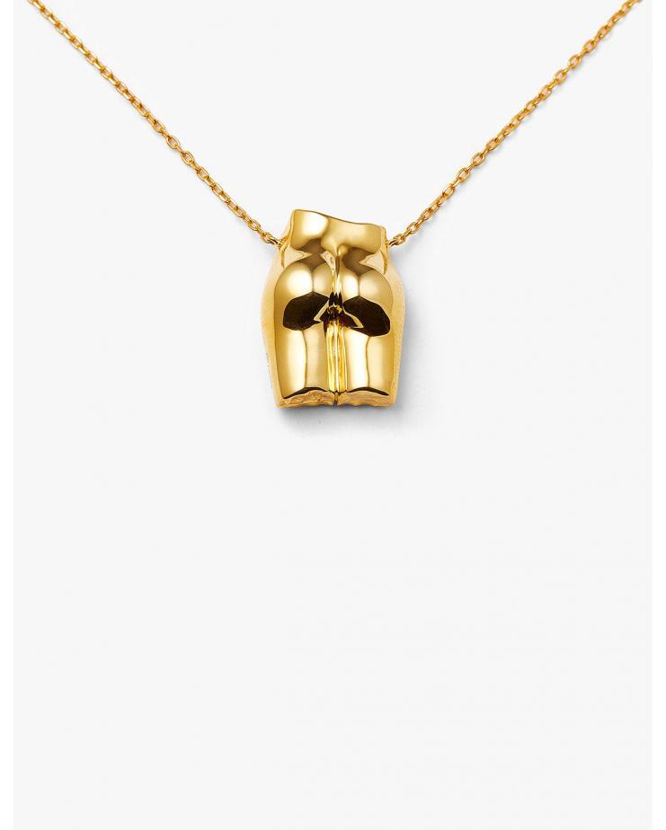 Le Derrière Necklace Polished