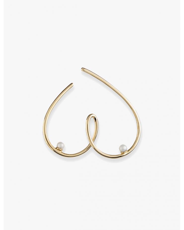 Free the Nip-pearl earring