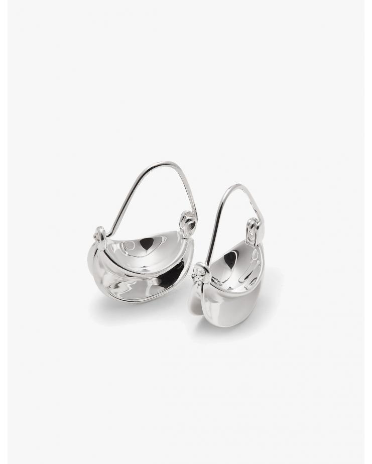 Mini Paniers d'Argent Earrings