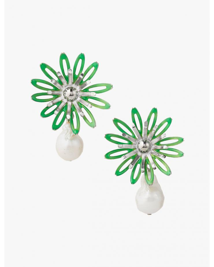 Neon Bloom Earrings