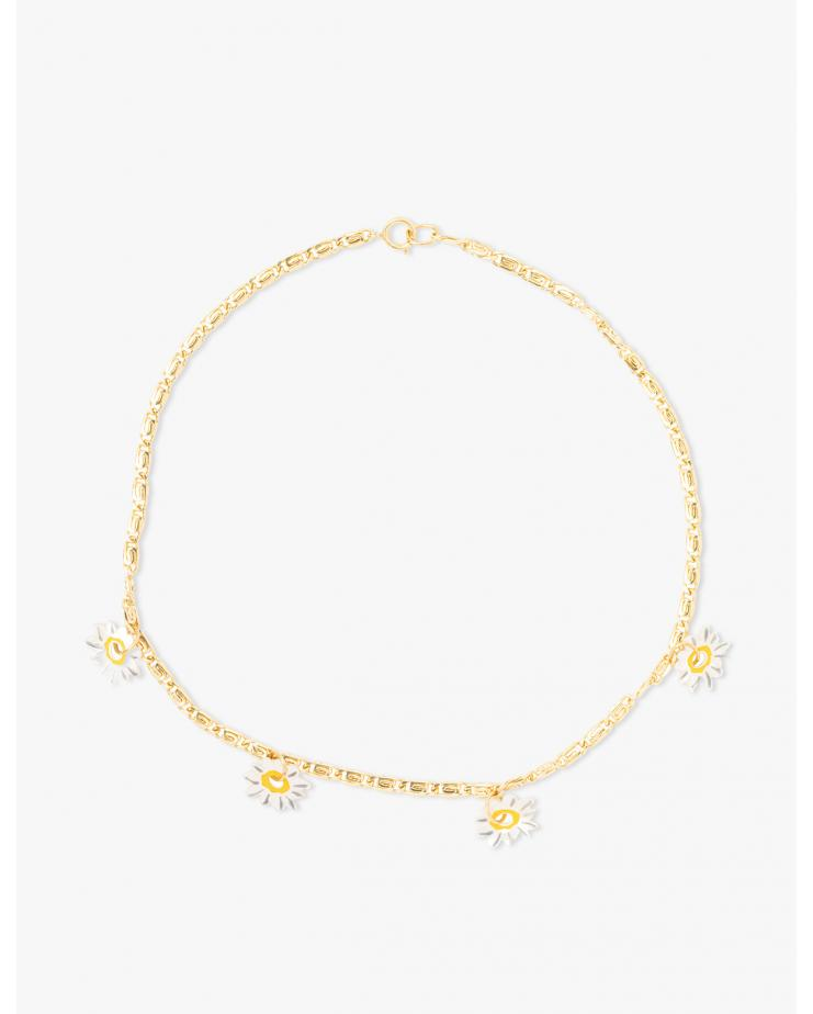 Daisy How High Gold Necklace