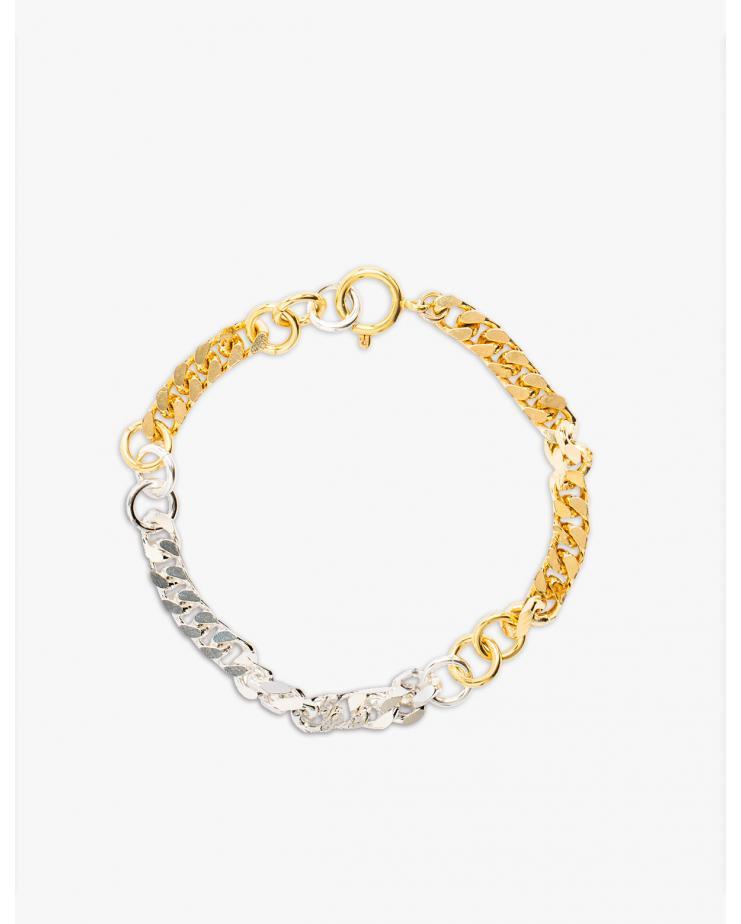 Dear Mama Gold Silver Bracelet