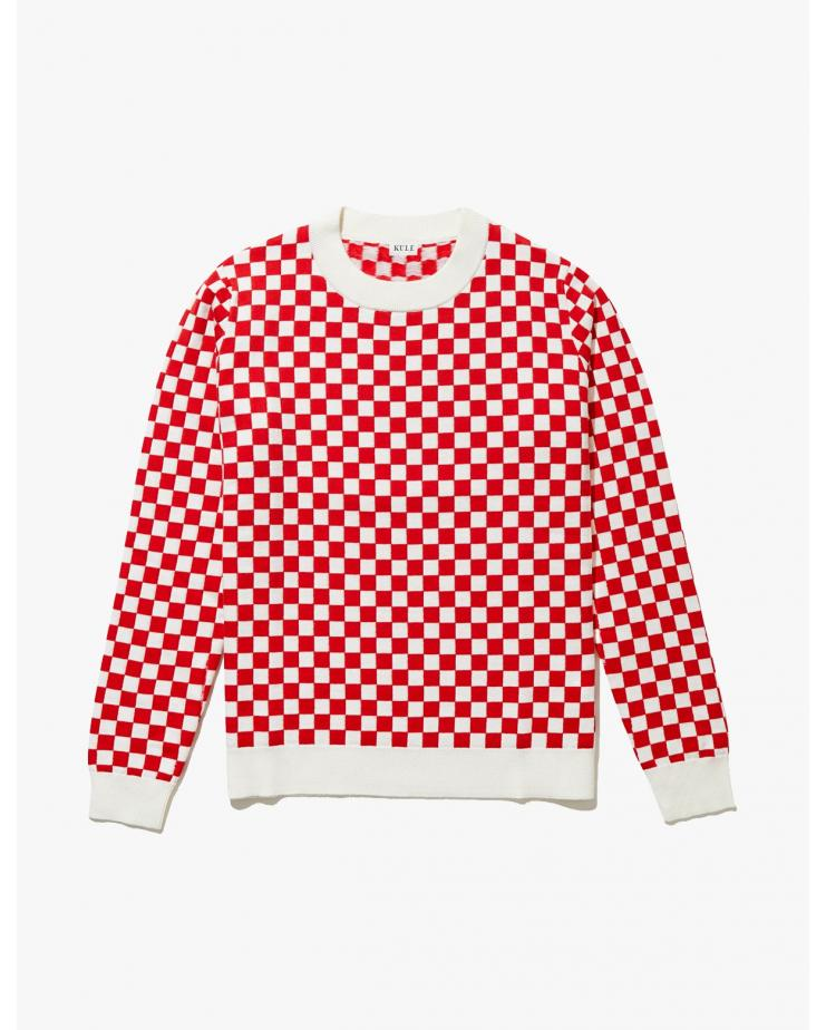 The Check Mate Sweater