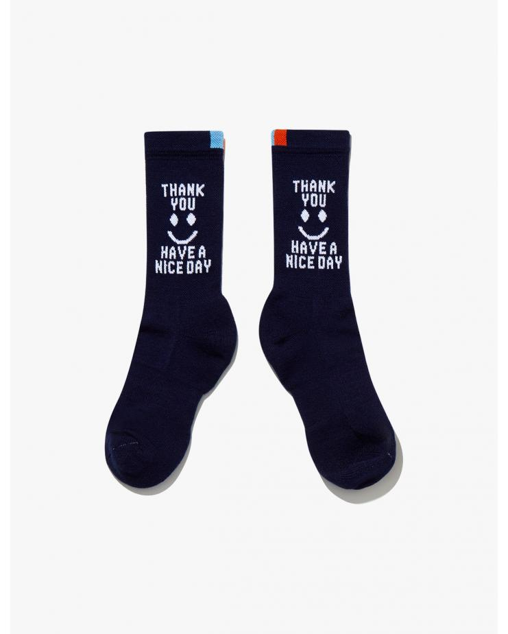 The Thank You Black Socks