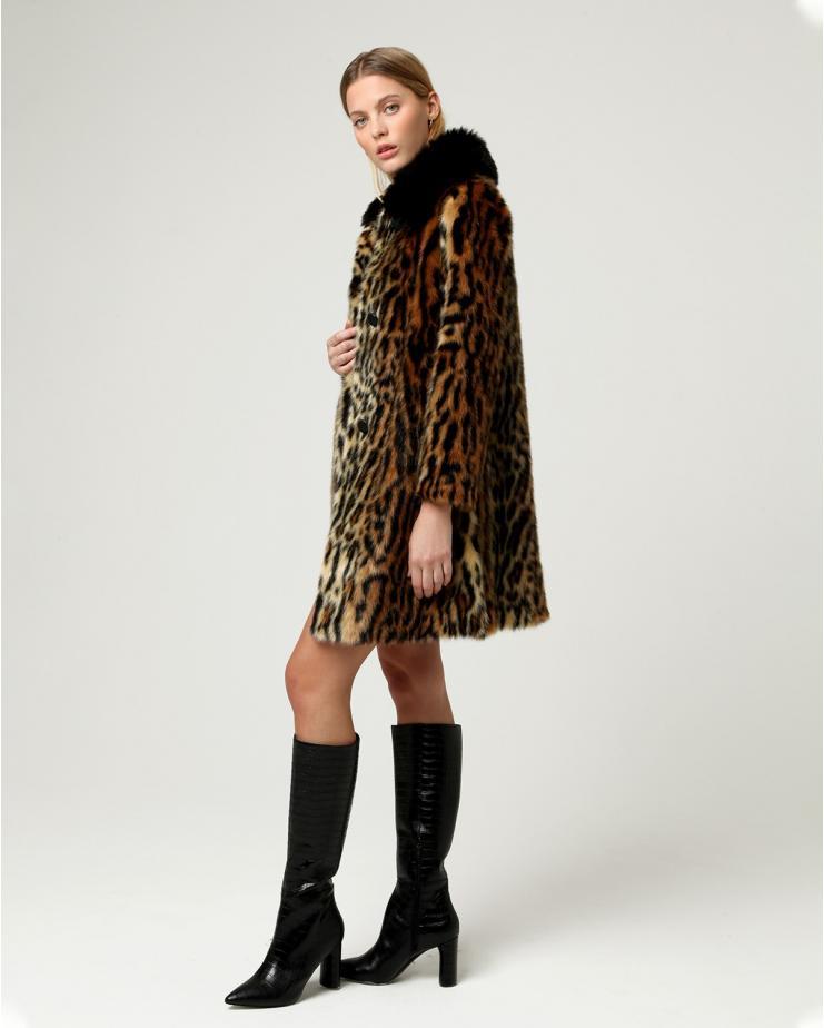 Chloe Jacket Leopard