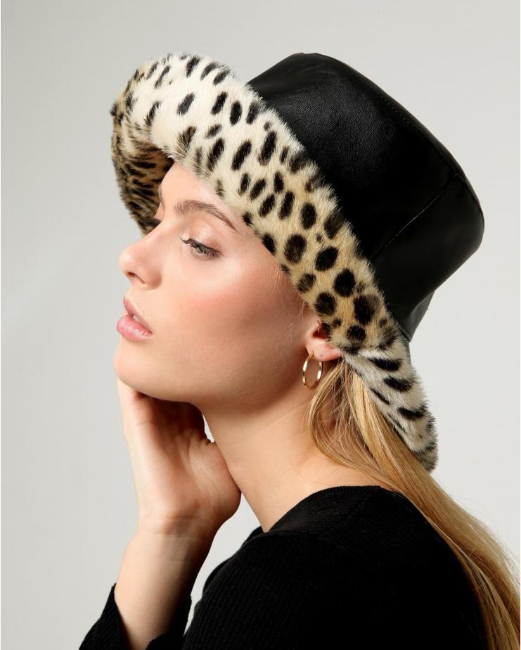 Billie Hat Leopard