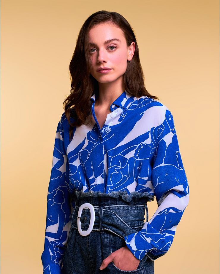 Alice Shirt Blue