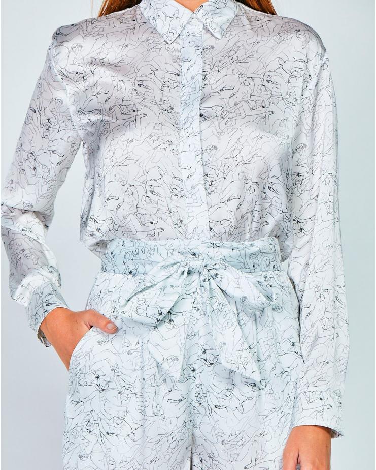 Alice Shirt Grey