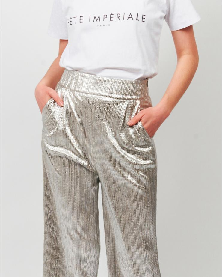 Ulysse Pants Silver