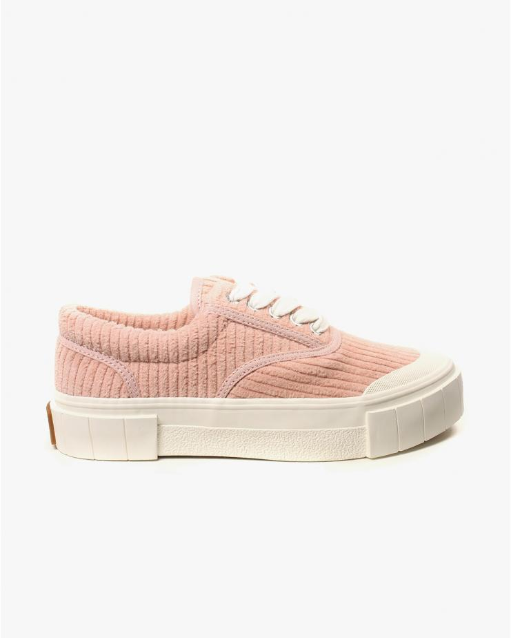 Opal Corduroy Pink Shoes