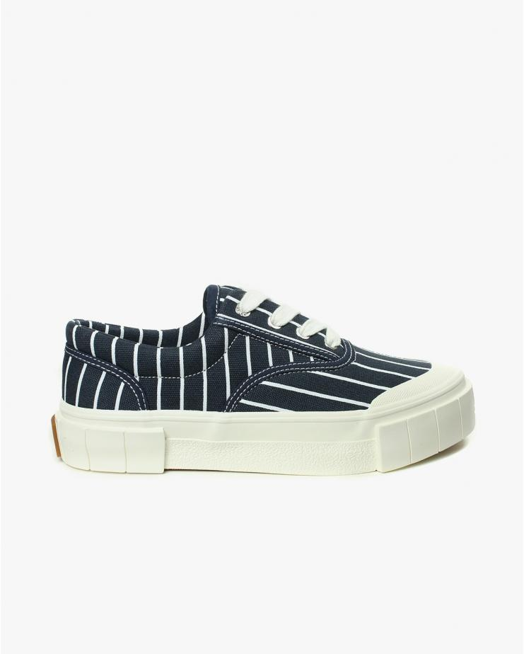 Opal Stripe Navy Shoes